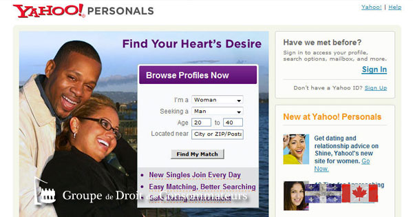 Yahoo dating site