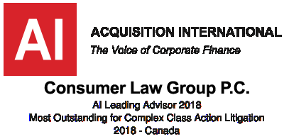 List of Canadian Class Actions | Consumer Law Group Class