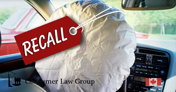 Takata Airbag Recall National Class Action | Consumer Law
