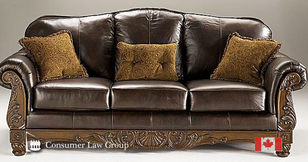 Awe Inspiring Ashley Furniture Fake Leather Canadian Class Action Evergreenethics Interior Chair Design Evergreenethicsorg