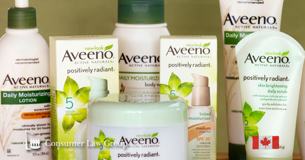Aveeno Active Naturals Canadian Class Action | Consumer Law Group Class Actions