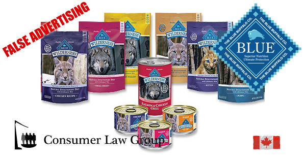 Blue Buffalo Pet Food Products Class Action Consumer Law