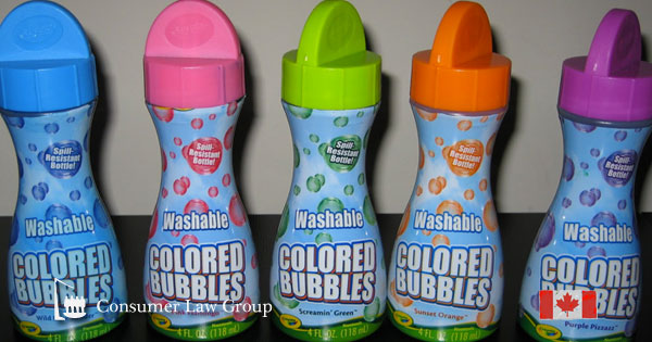 75868ac58a98d Crayola Washable Coloured Bubbles National Class Action