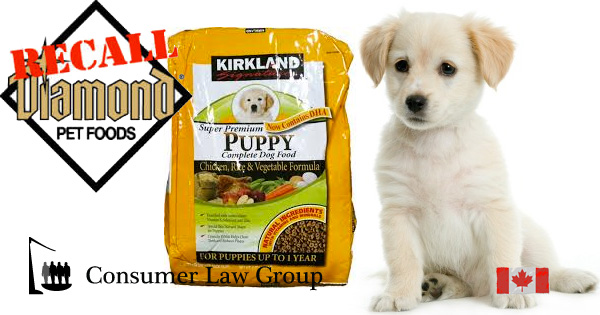 Diamond Pet Food Salmonella National Class Action Consumer Law