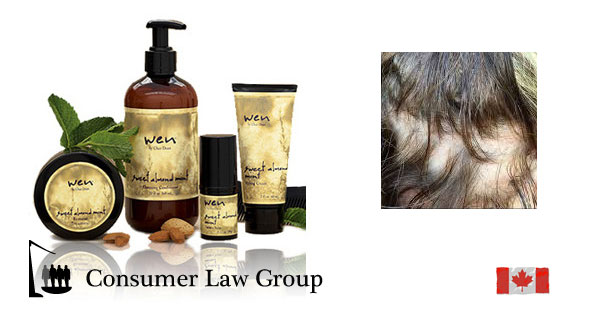 Wen Hair Care Products Canadian Class Action Consumer Law Group