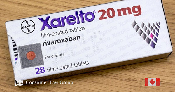 Xarelto (Rivaroxaban) Drug Side Effects Class Action Lawsuit